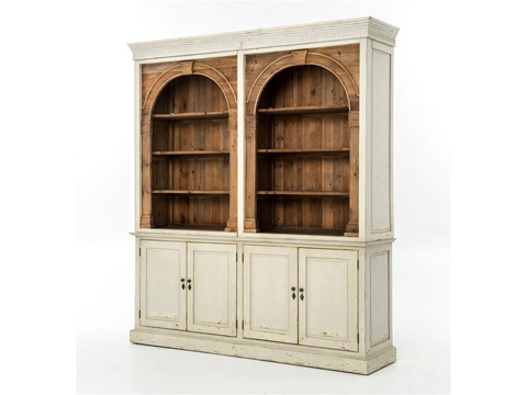 Image of Swedish Light Grey Stanford 3 Part Cabinet