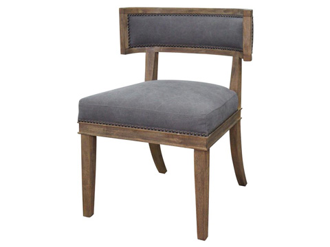 Image of Dark Moon Canvas Carter Dining Chair