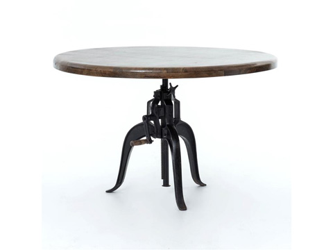 Image of Rockwell Adjustable Round Dining Table