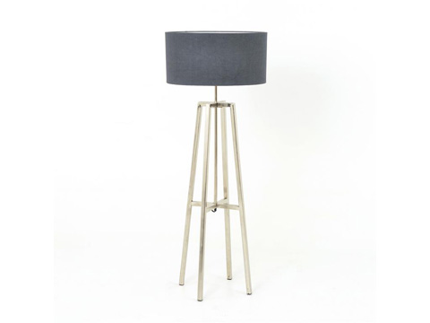 Image of Lewis Floor Lamp in Nikel