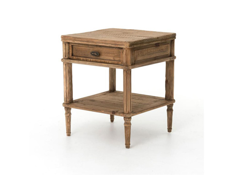 Four Hands - French Farmhouse Side Table - CIMP-5N-BP