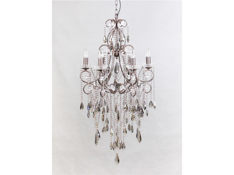 Four Hands - Charlotte Six Light Chandelier - CIRD-Z1