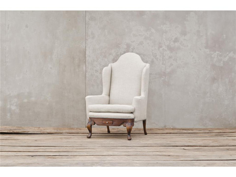 Four Hands - Dowager Balmoral's Wing Chair - CM1G26-R30000