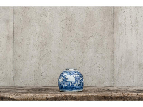 Image of Chinese Blue Vase Pair