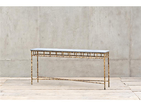 Four Hands - The Cheating Blacksmith Console Table - CVT-0461