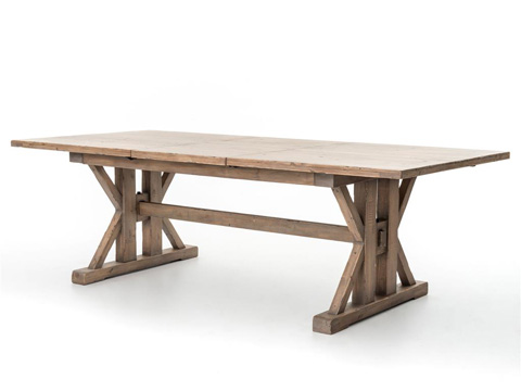 Image of Tuscan Spring Extension Dining Table