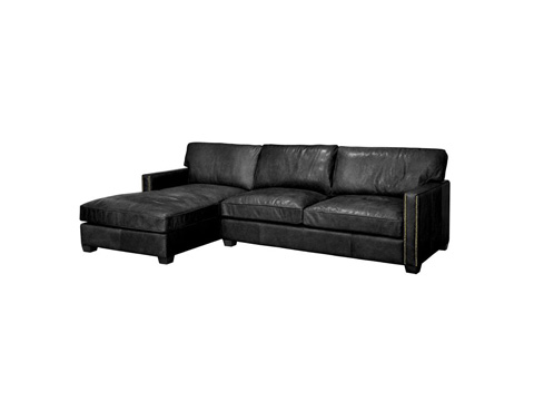 Four Hands - Larkin Two Piece Sectional - CCAR-Z1-RBK