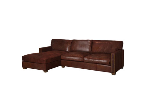 Four Hands - Larkin Two Piece Sectional - CCAR-Z1-VCG