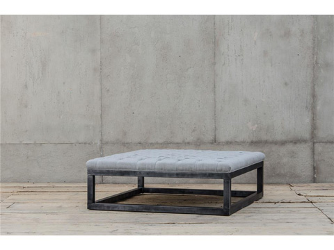 Image of Thick Frame Tufted Coffee Table