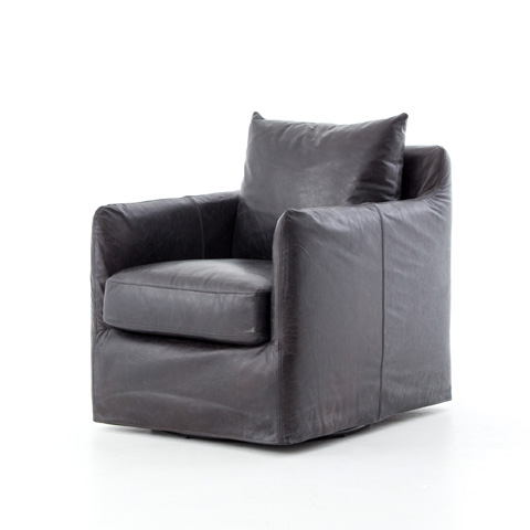 Image of Banks Swivel Chair