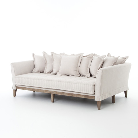 Image of Daybed Sofa in Light Sand