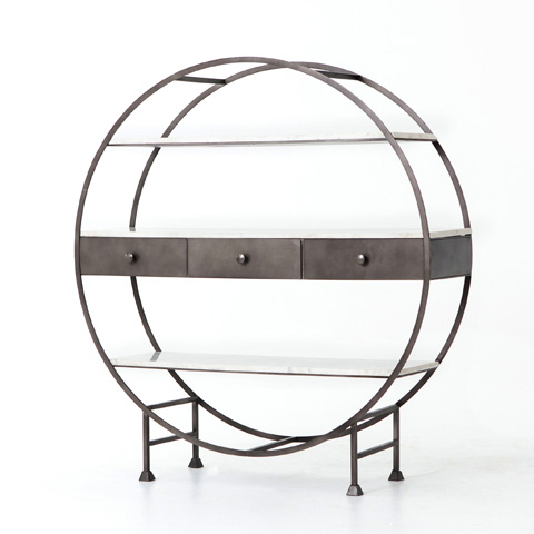 Image of Canton Round Bookcase