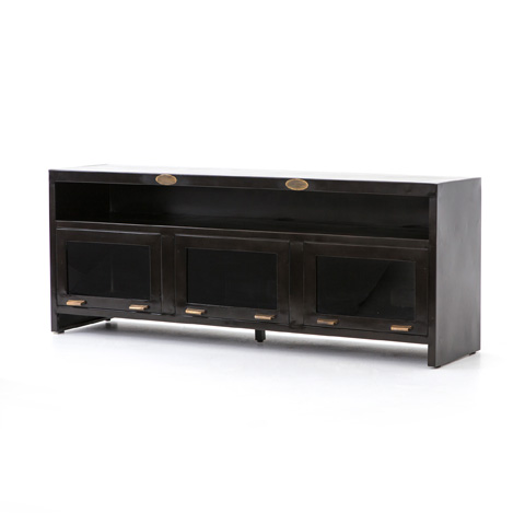 Image of Rockwell Three Door Media Cabinet