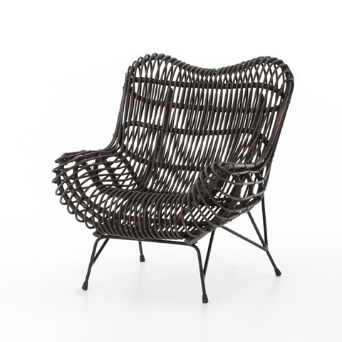 Image of Wicker Occasional Chair