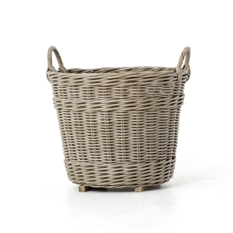 Image of Round Wicker Basket