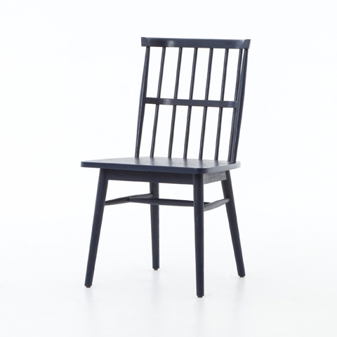 Image of Aspen Dining Chair in Indigo