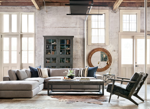 Image of Bloor Three Piece Living Room Collection