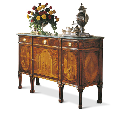 Image of Three Drawers Sideboard