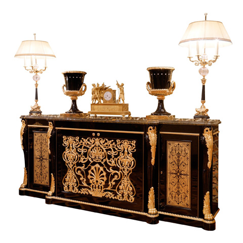 Image of Marble Top Sideboard