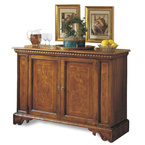 Image of 17th Century Inlaid Credenza