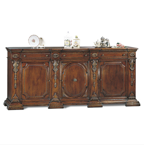 Francesco Molon - 16th Century Walnut Carved Sideboard - C3N