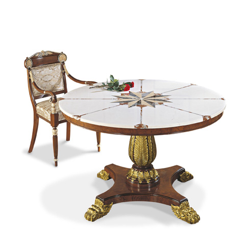 Image of Round Foyer Table