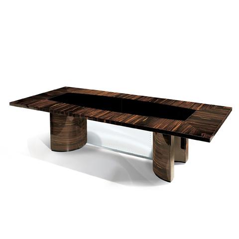 Francesco Molon - Black Mirrored Dining Table - F512