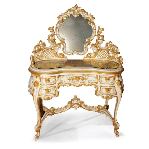 Image of Vanity with Five Drawers