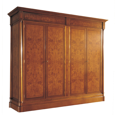 Image of Four Doors Armoire