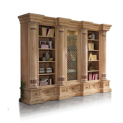 Image of Oak Library Bookcase