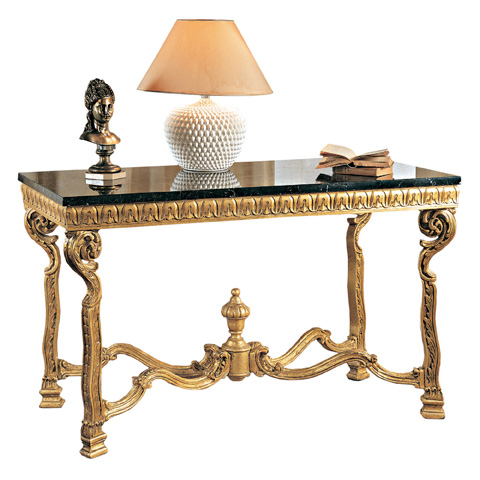 Francesco Molon - Console Table with Carvings - N101