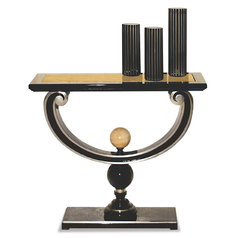Francesco Molon - Lira Console Table with Marble Top - N532