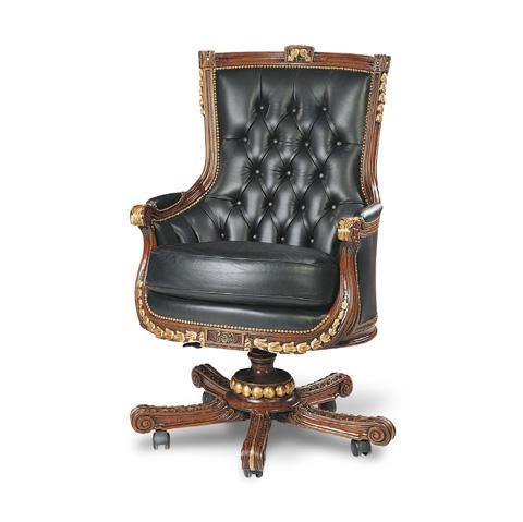 Francesco Molon - Leather Office Chair - P265