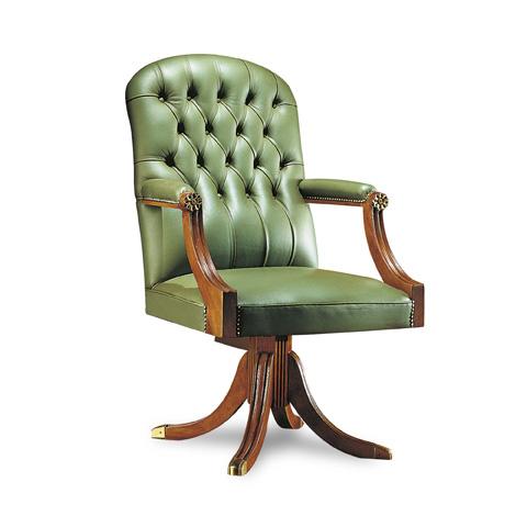 Francesco Molon - Leather Office Chair - P72