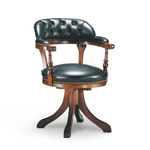 Francesco Molon - Leather Office Chair - P74