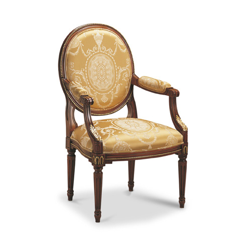 Image of Luis XVI Accent Arm Chair