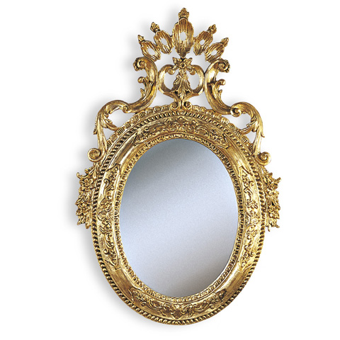 Francesco Molon - Mirror with Gold Leaf Carvings - Q103