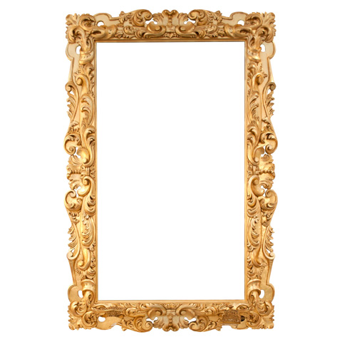 Image of Carved Mirror