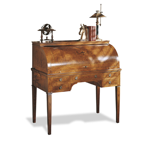 Image of Writing Desk with Inlays