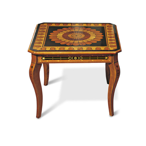 Image of Inlaid Lamp Table