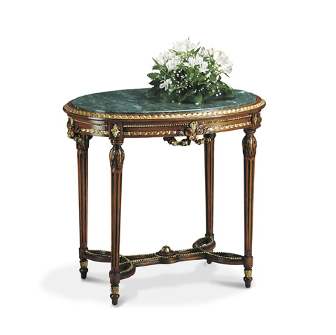 Image of Small Oval Accent Table