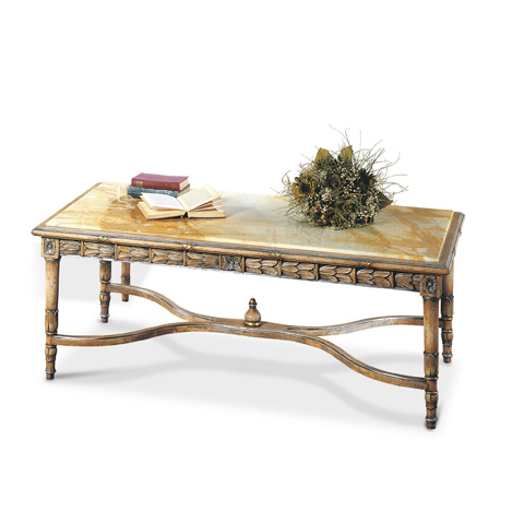Image of Cocktail Table with Marble Top
