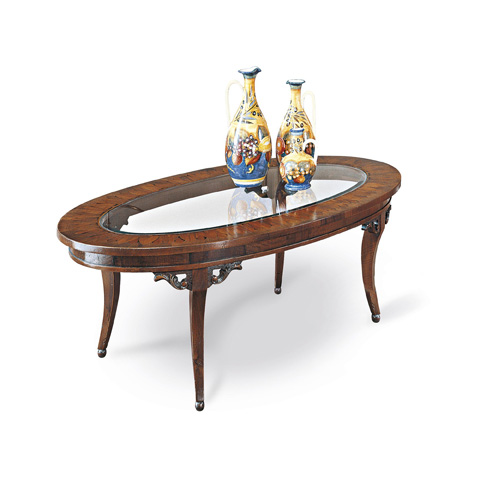 Image of Oval Coffee Table