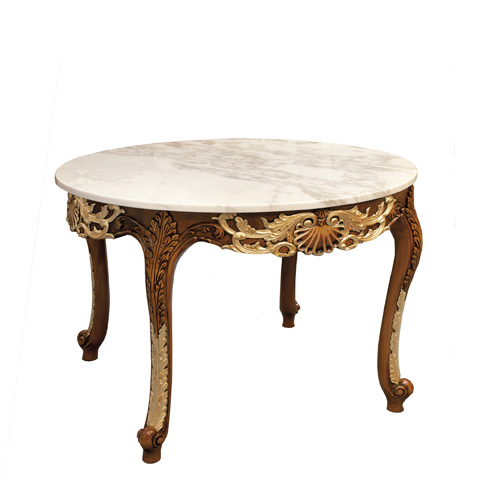 Image of Round Accent Table