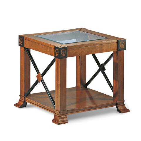 Image of Small Square Accent Table