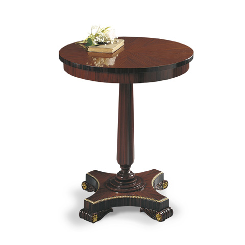 Image of Small Round Accent Table