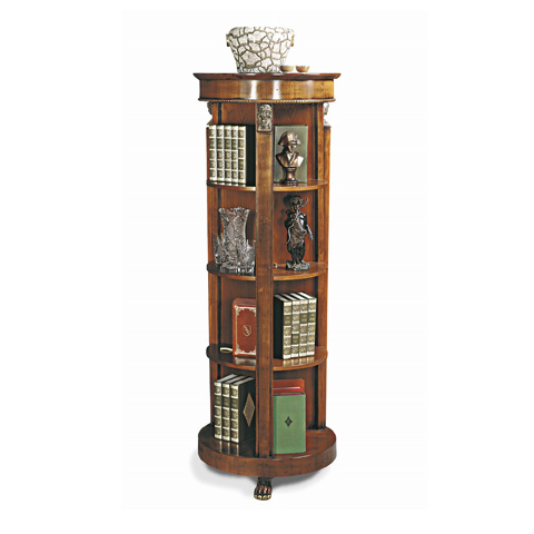 Image of Round Bookcase