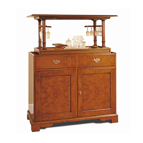 Image of Bar Cabinet with Lift