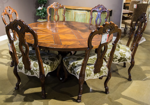 Image of Seven Piece Dining Room Set