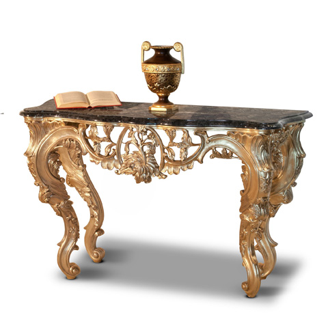 Image of New Empire Console with Marble Top